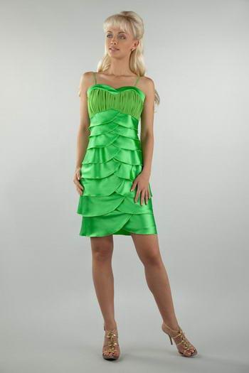 Коктейльное платье для полных. Фото