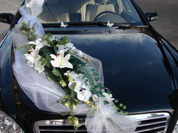 Как украсить свадебный кортеж самостоятельно (в картинках