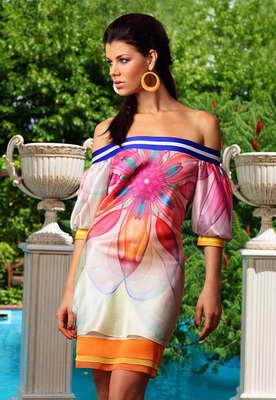 Короткие платья (мини платья) коллекции выпускных платьев 2012.