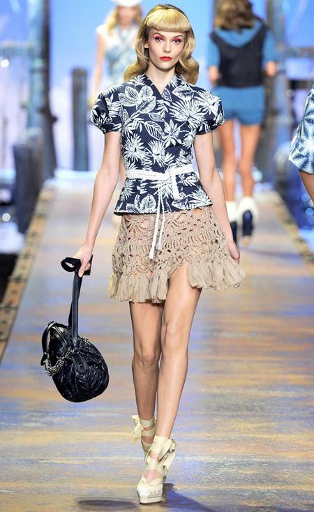 Тенденции моды 2011 вязание крючком и