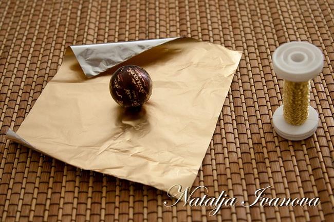 Букет из конфет своими руками мастер