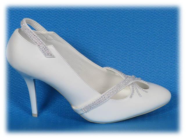 купить Ko-805 ecru gl > Туфли свадебные Kwinto