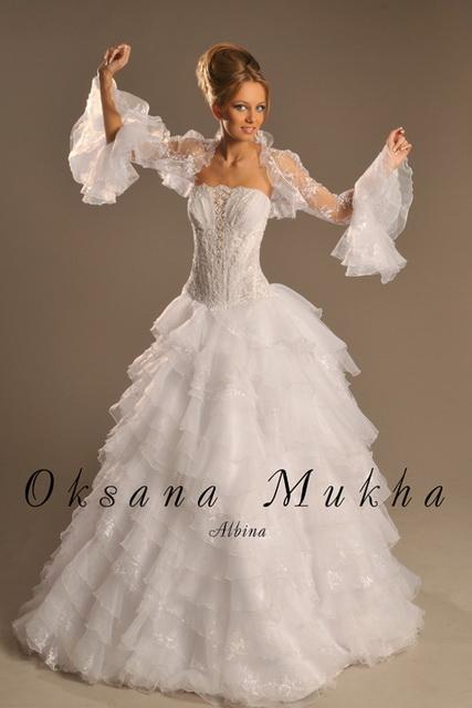 Свадебные платья Оксаны Мухи. Свадебный салон Alexis в Гомеле