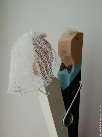 прищепка подарок на свадьбу