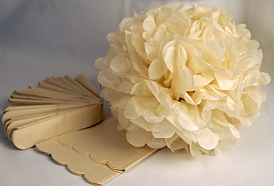 свадебные бумажные цветы своими руками