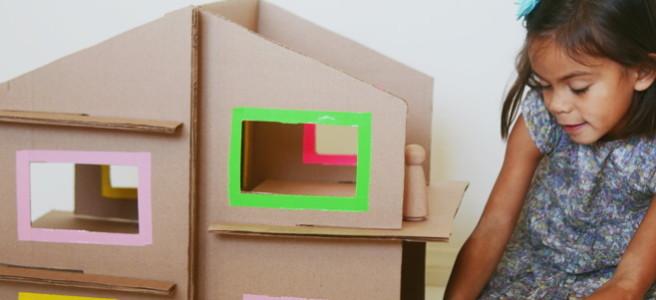 кукольный домик из картона своими руками