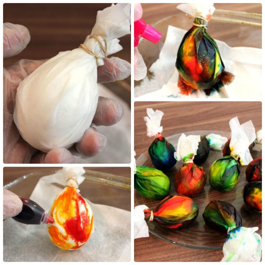 Как покрасить яйца к Пасхе фото