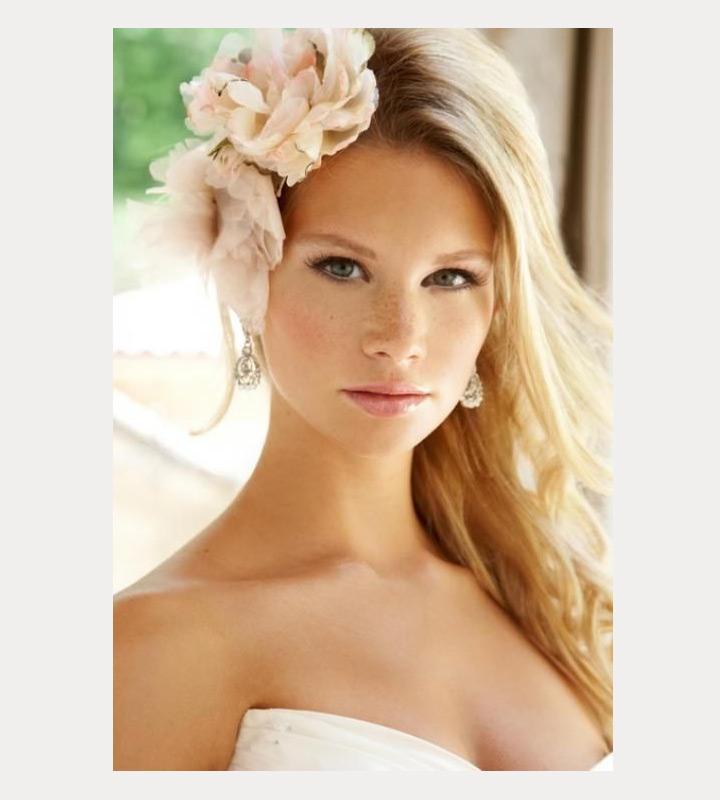 Естественный макияж для невесты