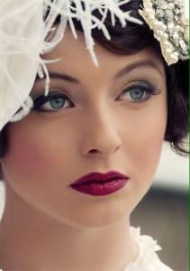 макияж для зимней свадьбы