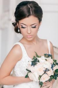 невеста, фото, макияж