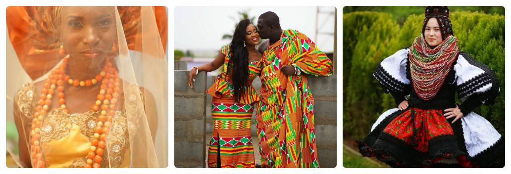 Традиционные свадебные платья