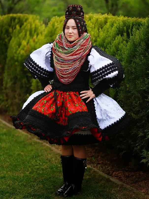 красивая румынская невеста