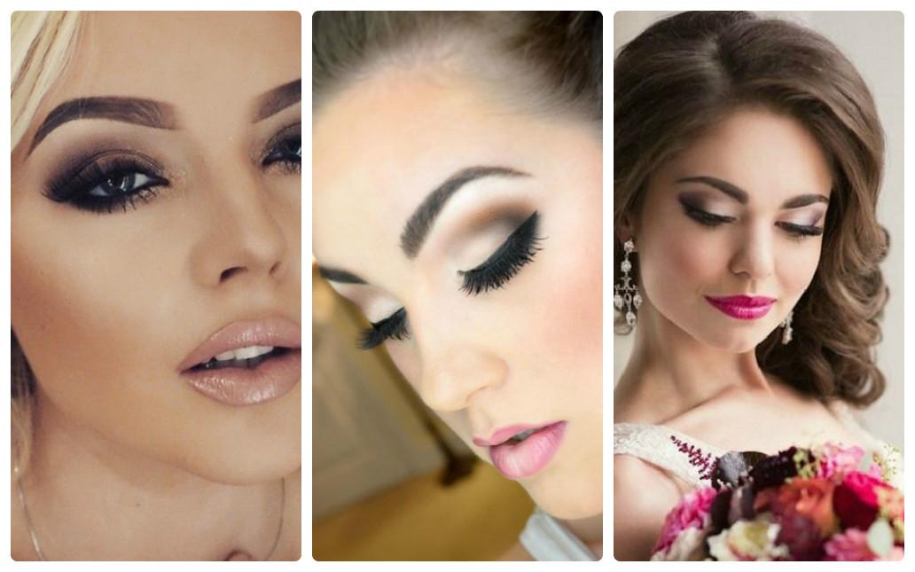 свадебный макияж 2016