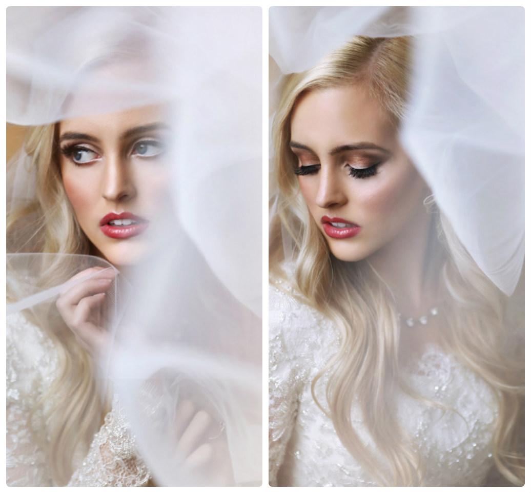 свадебный макияж красивое фото для блондинки