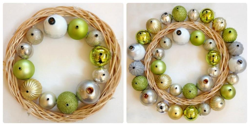 Мастер-класс по изготовлению новогоднего венка своими руками из шаров для елки