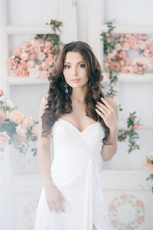 Невеста в цветах