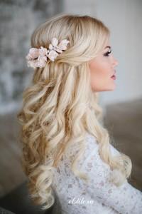 Свадебная прическа для блондинки