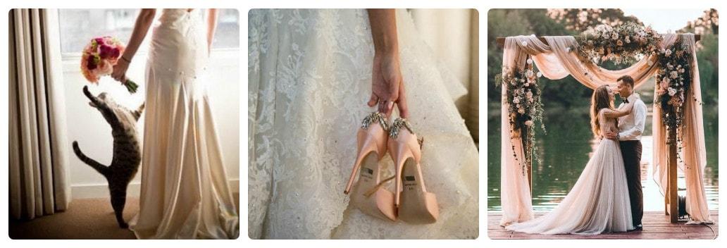 Свадебное фото каллаж