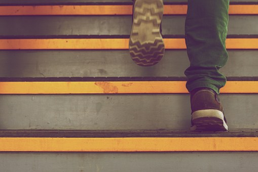 Шаг по ступеням