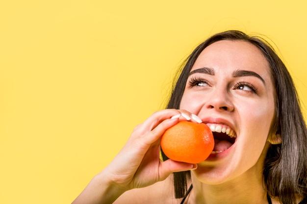 апельсин и зубы