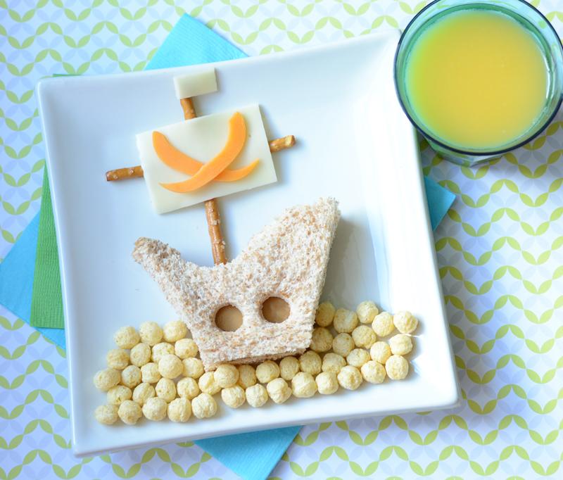 Завтрак для детей «Пиратский корабль»
