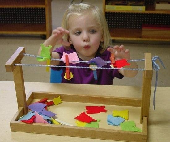 Игры для дошкольников с прищепками