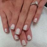Короткие ногти невесты