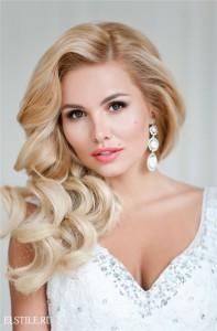 Фото невесты макияж и прическа